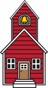 clip_art_illustration_of_a_red_schoolhouse_0071-0907-2808-3127_SMU