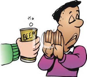 resisting beer