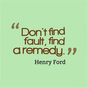 find fault ford